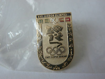 Mexico Olympic Games pin badge 2012
