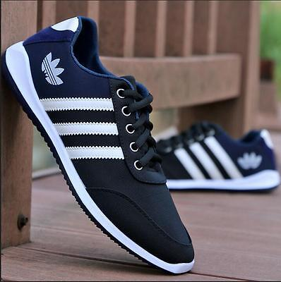 NEW Men's Shoes Fashion Breathable Casual Canvas Sneakers Running Trainers Shoes