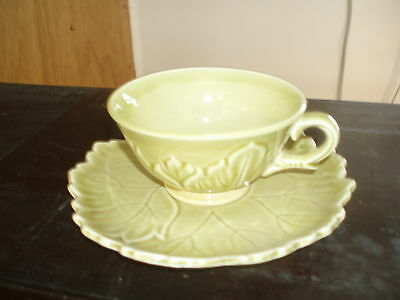 Cup and saucer * Woodfield by Steubenville   Yellow