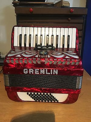 48 Bass Gremlin Accordion Made By Weltsmeister In Germany