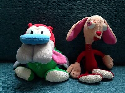 Ren and Stimpy Soft Toys