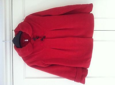 Red Winter Jacket Aged 11 Years From Next With Red Hat