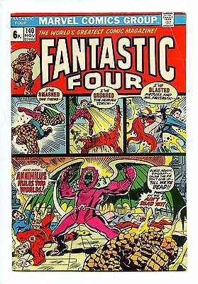 Fantastic Four #140 - Marvel BRONZE AGE 1973 FN