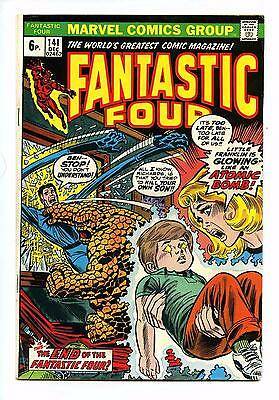 Fantastic Four #141 - Marvel BRONZE AGE 1973 FN