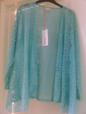 New ladies lace top size 14/16