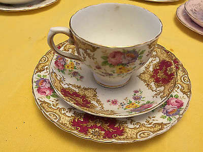 Tuscan Fine English Bone China Cup Saucer & Plate Set