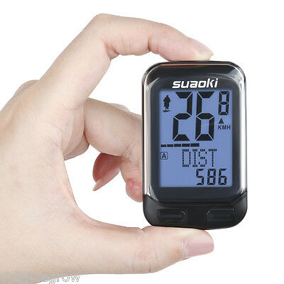 Wireless Bicycle Computer Cadence Sensor Speedometer Odometer Cycling Distance