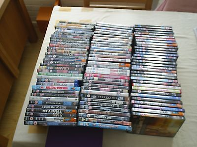 Collection of 100 DVD's Region 2  (Job Lot)