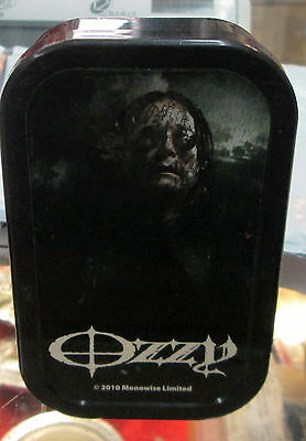 Ozzy Osbourne Lighter Collectable  Vintage 2010  Butane Refillable Black Sabbath