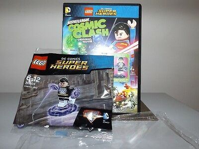 Lego DC Comic Cosmic Boy Poly Bag Figure with Justice League DVD