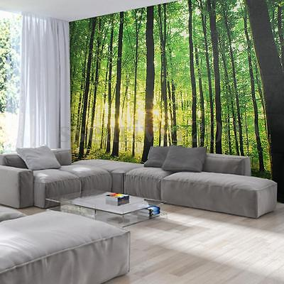 Large Forest 3D Wall Mural Photo Wallpaper Non-woven TV Background Room Decor