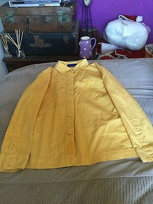 Shires Canary Yellow Showing shirt