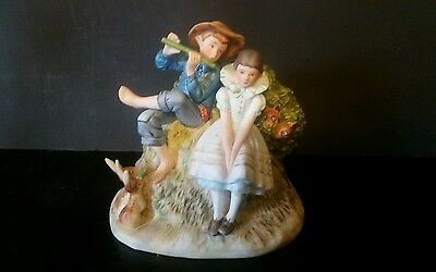 Norman Rockwell Gorham Spring Sweet Sin so Young Figurine Boy/Girl