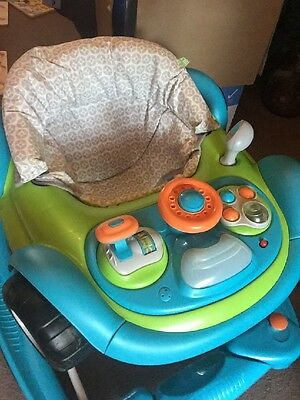 Mothercare Coupe Baby Walker (car) and Rocker
