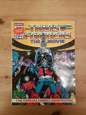 Transformers The Movie Comic Book Adaption