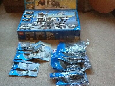 Lego City Instructions Manual 7237 Police Station bags and Box ( no Lego)