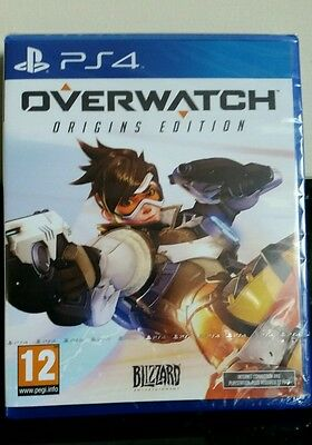 overwatch ps4 (new and sealed)