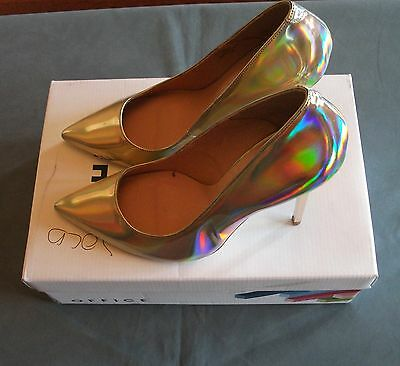Gorgeous Gold Ladies Shoes by Office in size 6