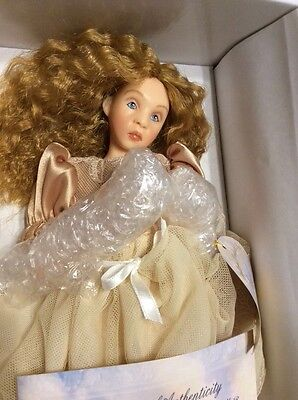 "Must See - Brand New Angel Whisper Doll ""Faith"" by Gay Talbott Boassy"