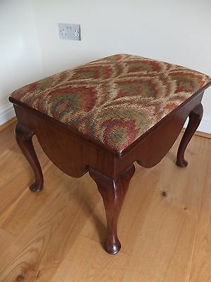Vintage dressing or piano stool