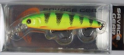 Savage Gear 3D Prey 65 // 44909 // Fire Perch 6,5cm 7g Fishing Lure