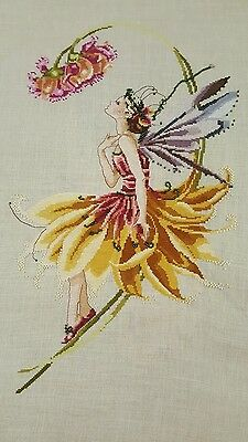 Woodland Fairy Completed Cross Stitch