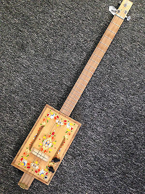 Barney Cigar Box Guitar