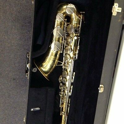 Corton by Amati tennor saxophone with hard case