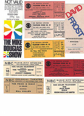 9 Vintage TELEVISION SHOW tickets