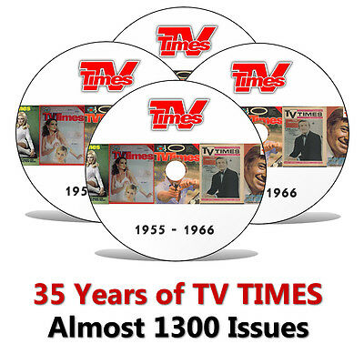 35 Years of TV TIMES Magazine 1955-1990 - Ultimate DVD Collection