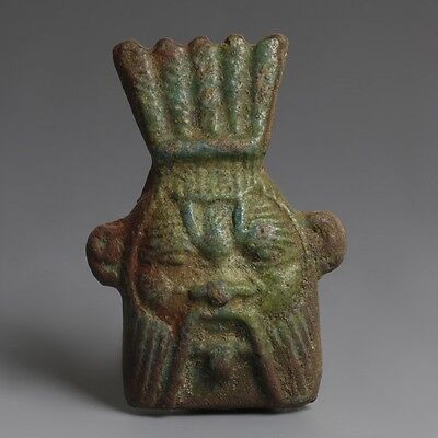 Egyptian Bes Head Amulet