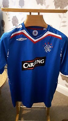 Rangers   Football  Shirt  Large