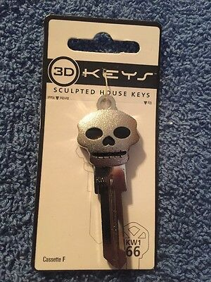 Hillman Group Skull 3D Sculpted House Keys  87507 KW1-66