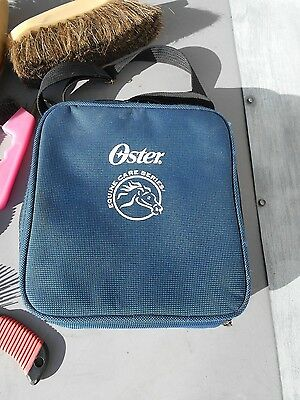 OSTER HORSE GROOMING KIT/ Carrying Case & Shoulder Strap