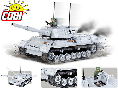 COBI 3009 - World of Tanks Bonus Code - Small Army Bausteine - Panzer LEOPARD I