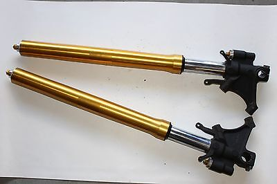2015 Yamaha Yzf R6 R6R 08-16 Forks Front Suspension Tube Left Right Gold Stock