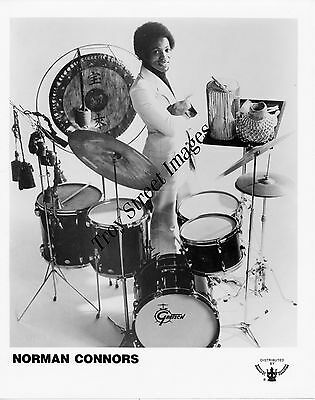 Original 8x10 promo photo of R&B drummer and composer NORMAN CONNORS, mid 1970s