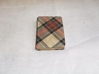 """The Thistle Library Miniature Tartanware Book """"bonnie Prince Charlie"""" W T Fyfe"""