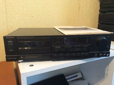 TECHNICS RS-B505 Dolby Stereo Cassette Tape Deck - Class AA Hifi Separate