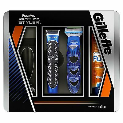Gillette Fusion ProGlide Styler 3-in-1 + ProGlide Gel Set