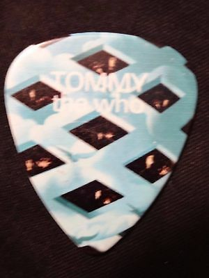 The Who Concert Tour Guitar Pick (80's Pop Hard Rock Heavy Metal Band)