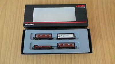 K13: Marklin 'Z' Gauge 86000 Freight Set (Exc & Boxed)