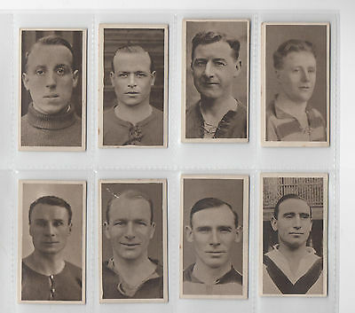 'Famous Footballers': 1923 by Hill: (8/50)