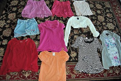 Lot of 10 pieces of girls clothing size 6 gymboree the children's place old navy