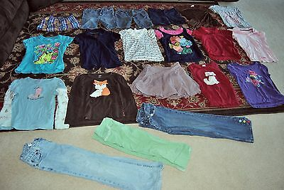 Lot of 20 pieces of girls clothing size 7 circo lots of gymboree arizona justice