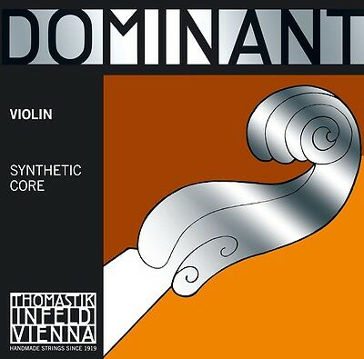 Dominant Violin Strings E, A, D & G - 4/4, 3/4, 1/2, 1/4 & 1/8 Sizes