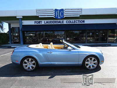 2009 Bentley Continental GT GTC Convertible 2009 BENTLEY GTC SILVERLAKE/MAGNOLIA JUST SERVICED