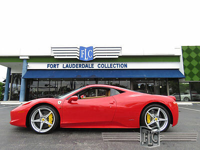 2014 Ferrari 458 2dr Coupe 2014 FERRARI 458 COUPE STUNNING INSIDE AND OUT !
