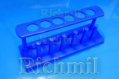 Six Hole Boiling / Test Tube Rack / Stand / Holder / 6 Drying Rack / Plastic