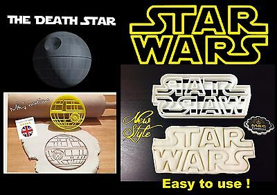 The Death Star Logo Star Wars Plastic Biscuit Cookie Cutter Fondant Cake Decorat